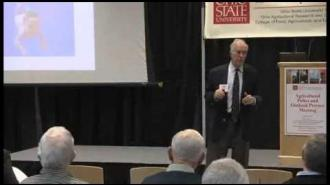 Douglas Southgate - Ohio State's 2013 Agricultural Policy and Outlook Conference Series