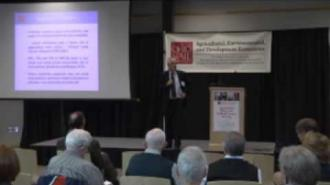 Ian Sheldon - Ohio State's 2013 Agricultural Policy and Outlook Conference Series